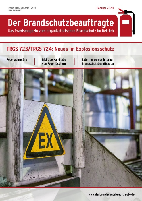 Ausgabe Februar 2020<br>Explosionsschutz