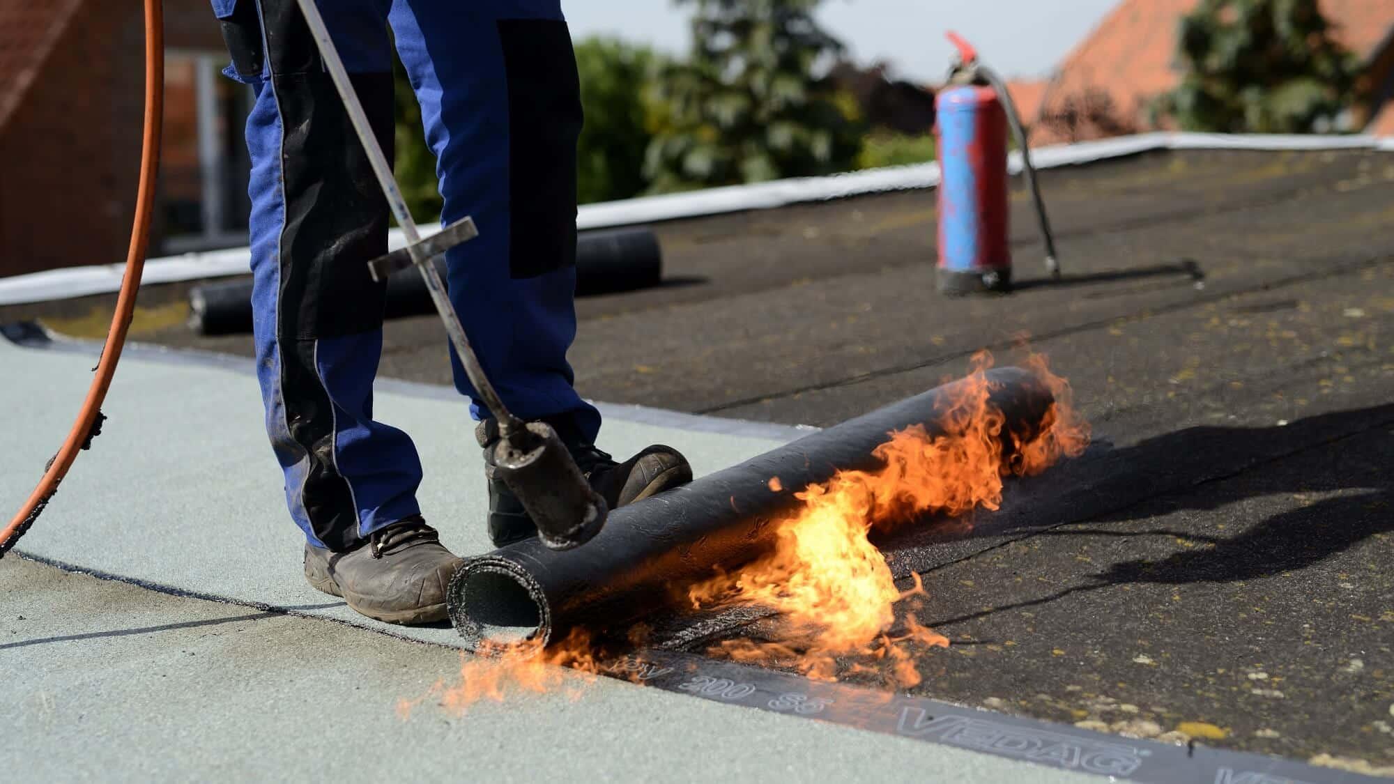 Brandschutz bei feuergefährlichen Arbeiten